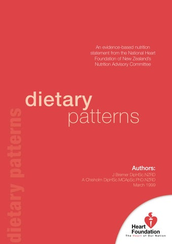 Model Gorden Ala Korea heart foundations evidence paper dietary patterns by heart