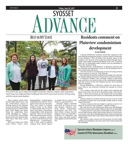 Syosset advance by litmor publishing issuu page 1 fandeluxe Image collections