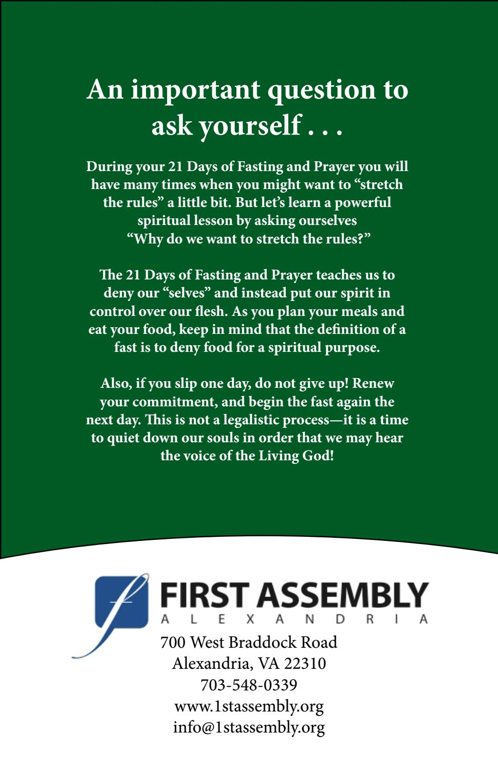 The daniel fast guide & devotional by IgnnieNaschuo - issuu