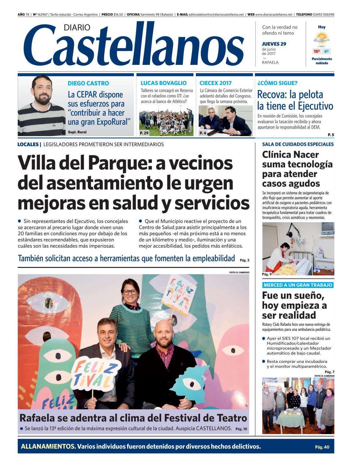 Diario Castellanos 29 06 by Diario Castellanos - issuu