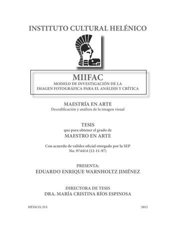 7c86a5807e MIIFAC by Eduardo Warnholtz - issuu