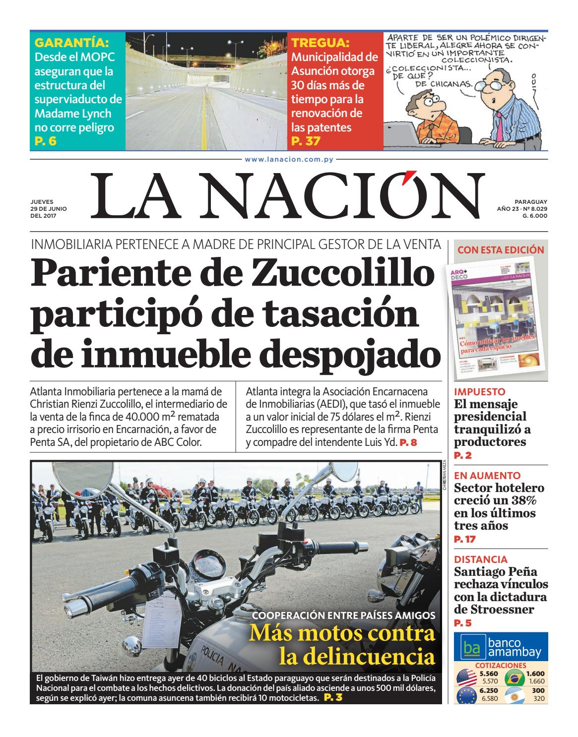 Diario La Naci N Edici N 8 017 By La Naci N Issuu # Muebles Narciso Caaguazu