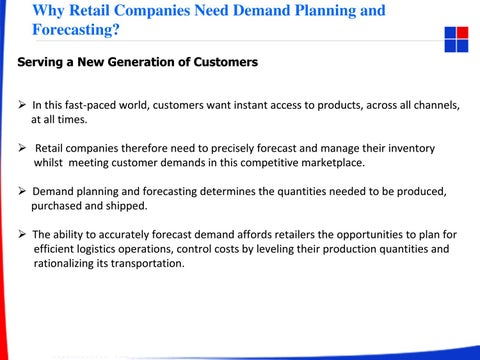Why retail companies need demand planning and forecasting (1