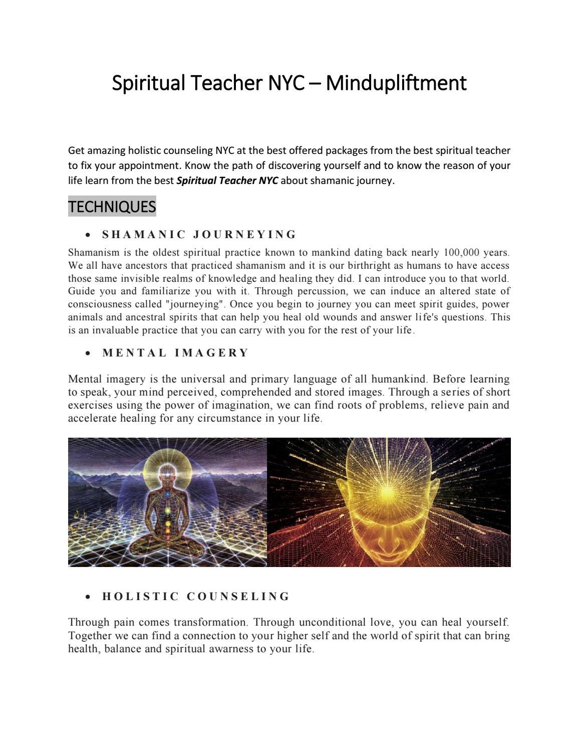 Spiritual Teacher NYC – Mindupliftment by MindUpLiftment - issuu