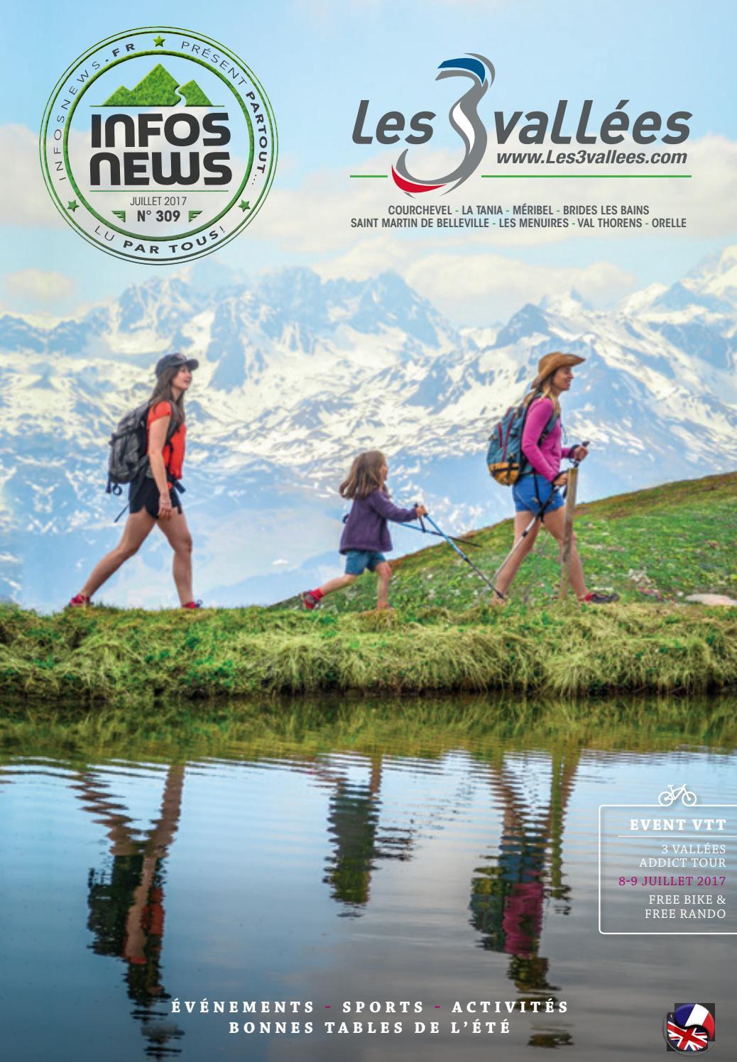 Les 3 Vallées Infosnews N309 By Magazine Infosnews Issuu