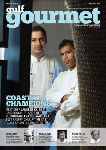 June july 2017 by gulf gourmet magazine issuu page 1 sciox Gallery