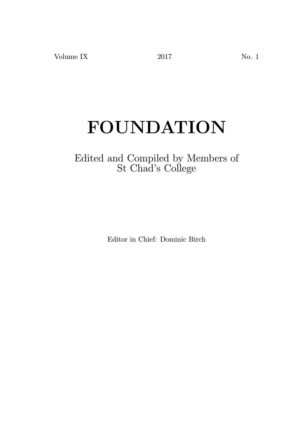 Foundation ix by st chads college publications issuu fandeluxe Choice Image