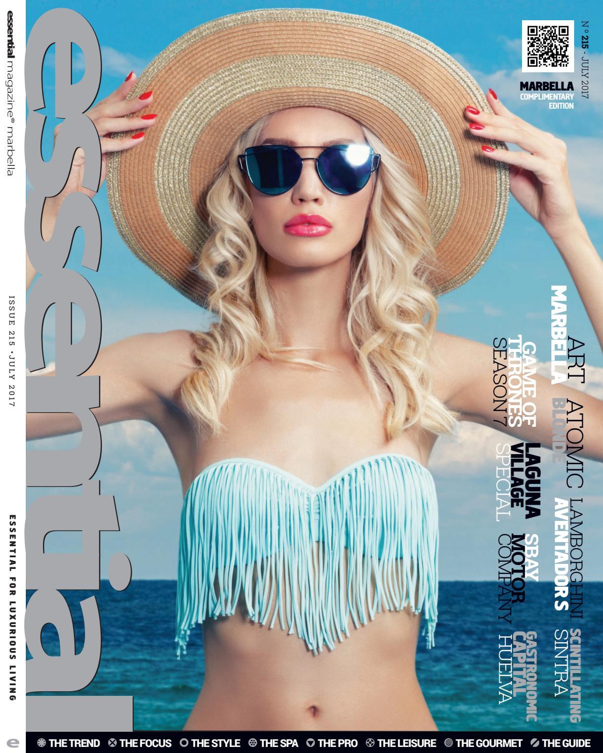 Essential Magazine July 2017 By Publicaciones Independientes Costa  # Gabriela Gez Muebles