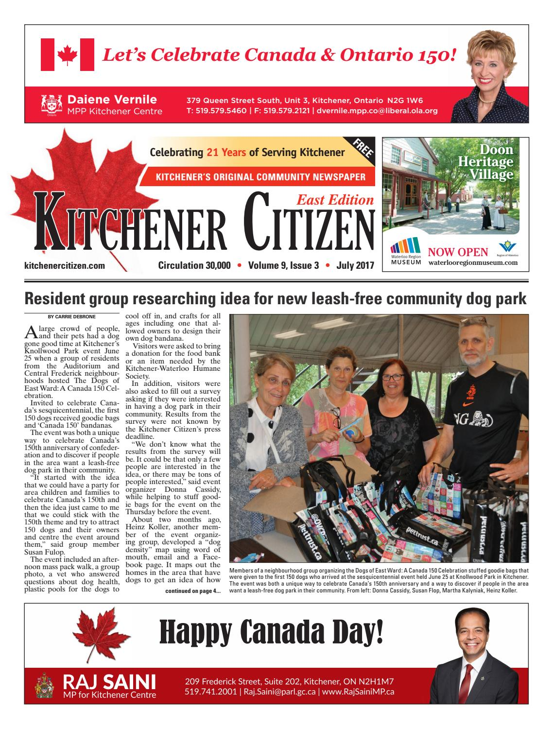 Kitchener Citizen - East Edition - July 2017 by Kitchener Citizen ...