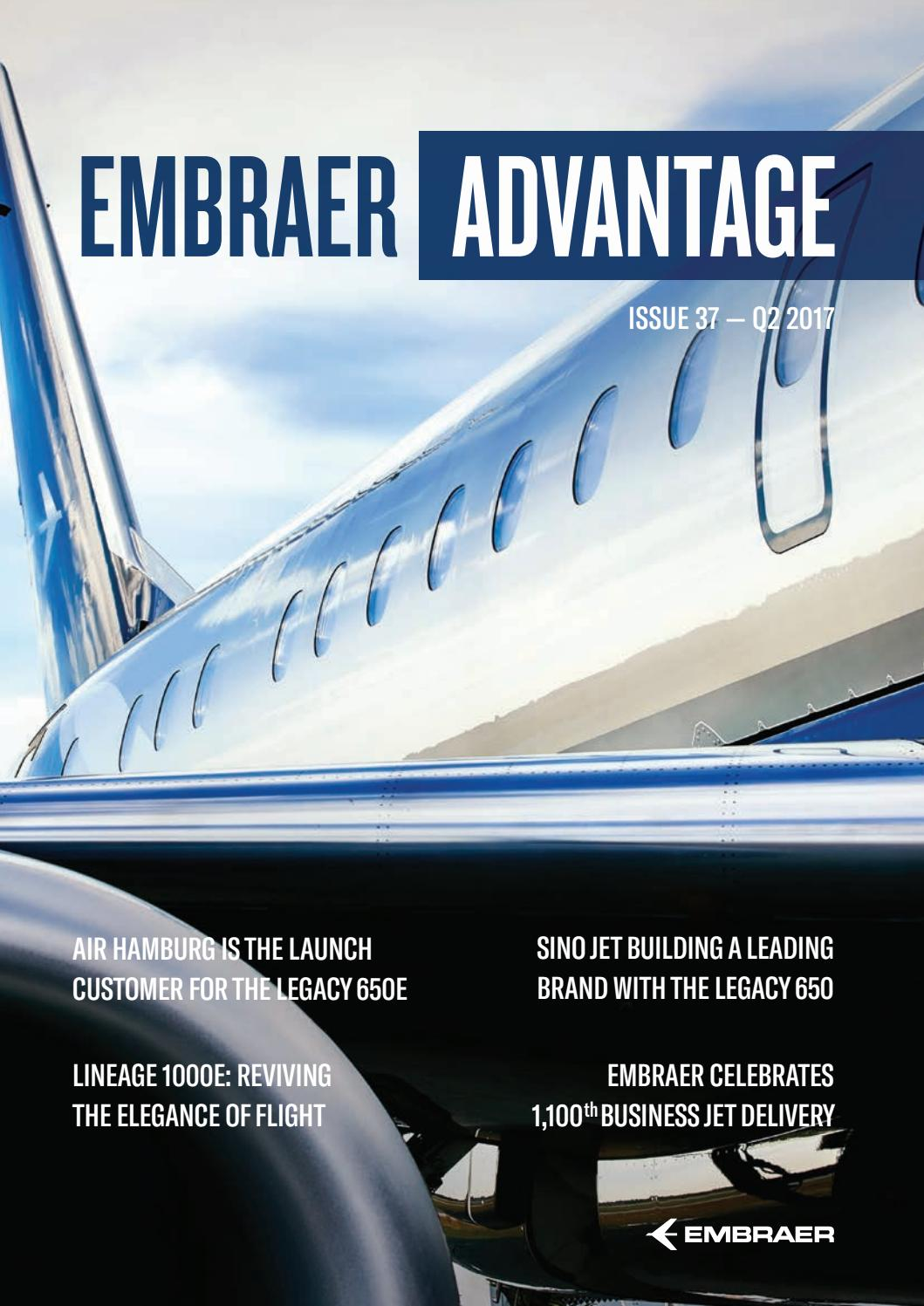 Phenom 300 cockpit phenom executive jet line leaders of innovation - Embraer Advantage 37 Edition Q2 2017 By Embraer Executive Jets Issuu