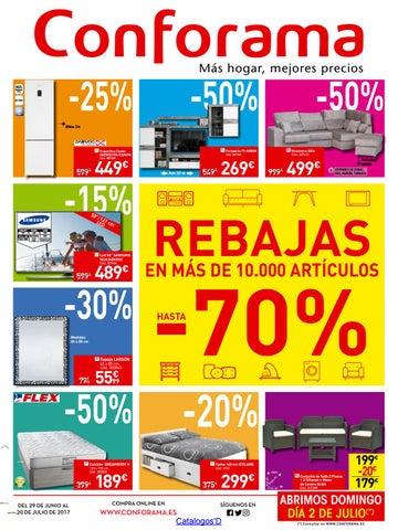 Conforama Rebajas Hasta 70 29 6 17 By Catalogosd Es Issuu