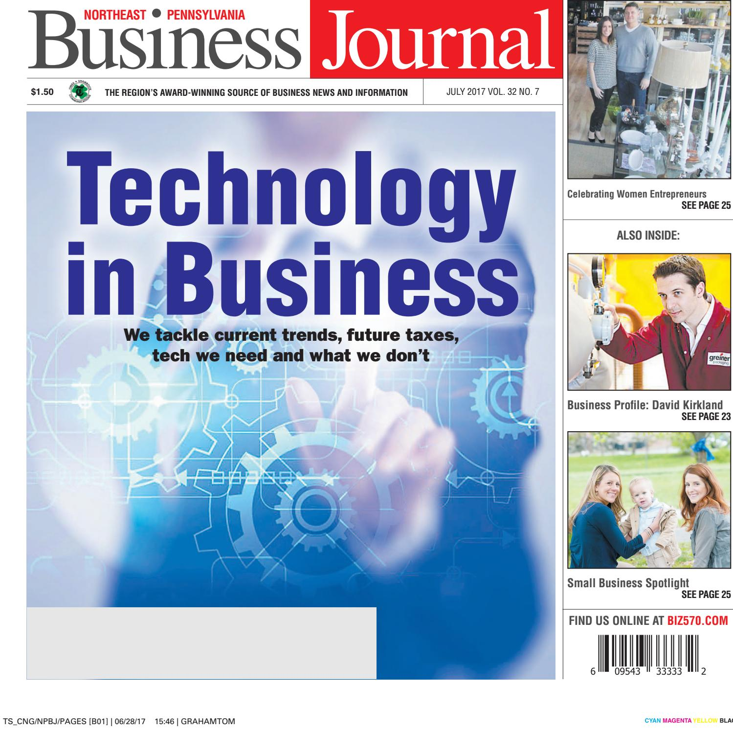 Northeast Pennsylvania Business Journal July 2017 By CNG Newspaper