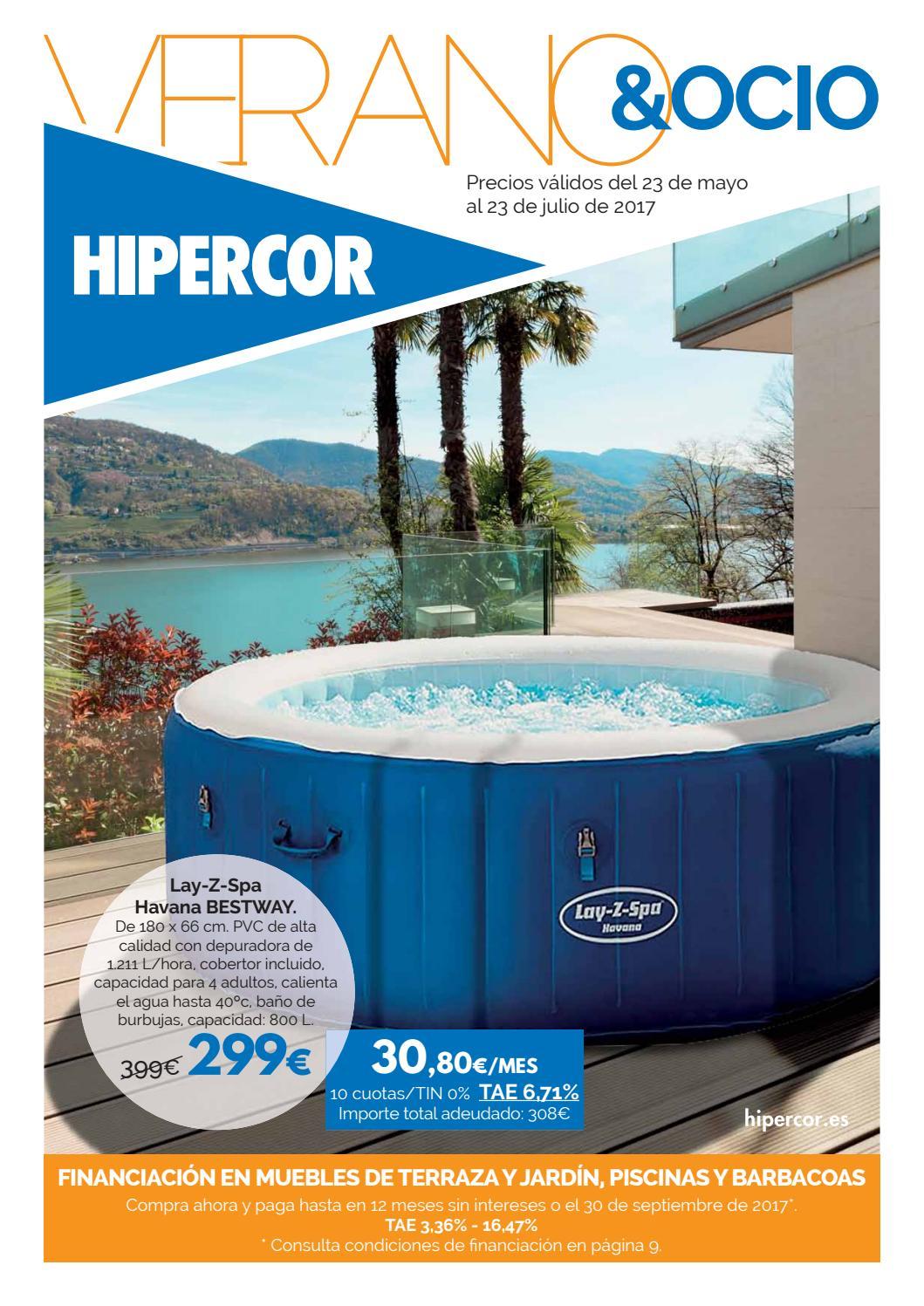 Piscinas hipercor by Ofertas Supermercados - issuu 5493fa6ddd17