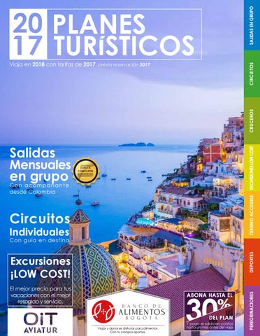 huge selection of f6636 8260d Planes turísticos 2017 by Agencia OIT - issuu