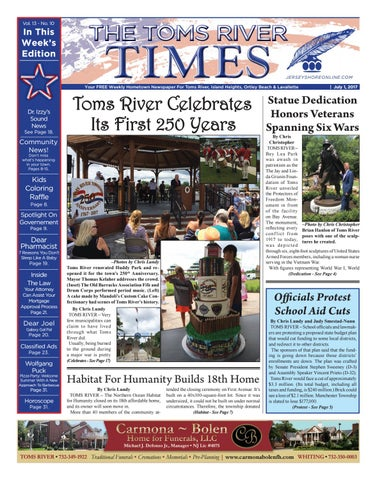 2017 07 01 The Toms River Times By Micromedia Publicationsjersey