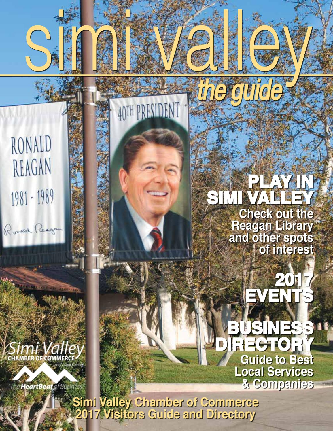 Simi Valley Chamber of Commerce - The Guide 2017 by svcc2468