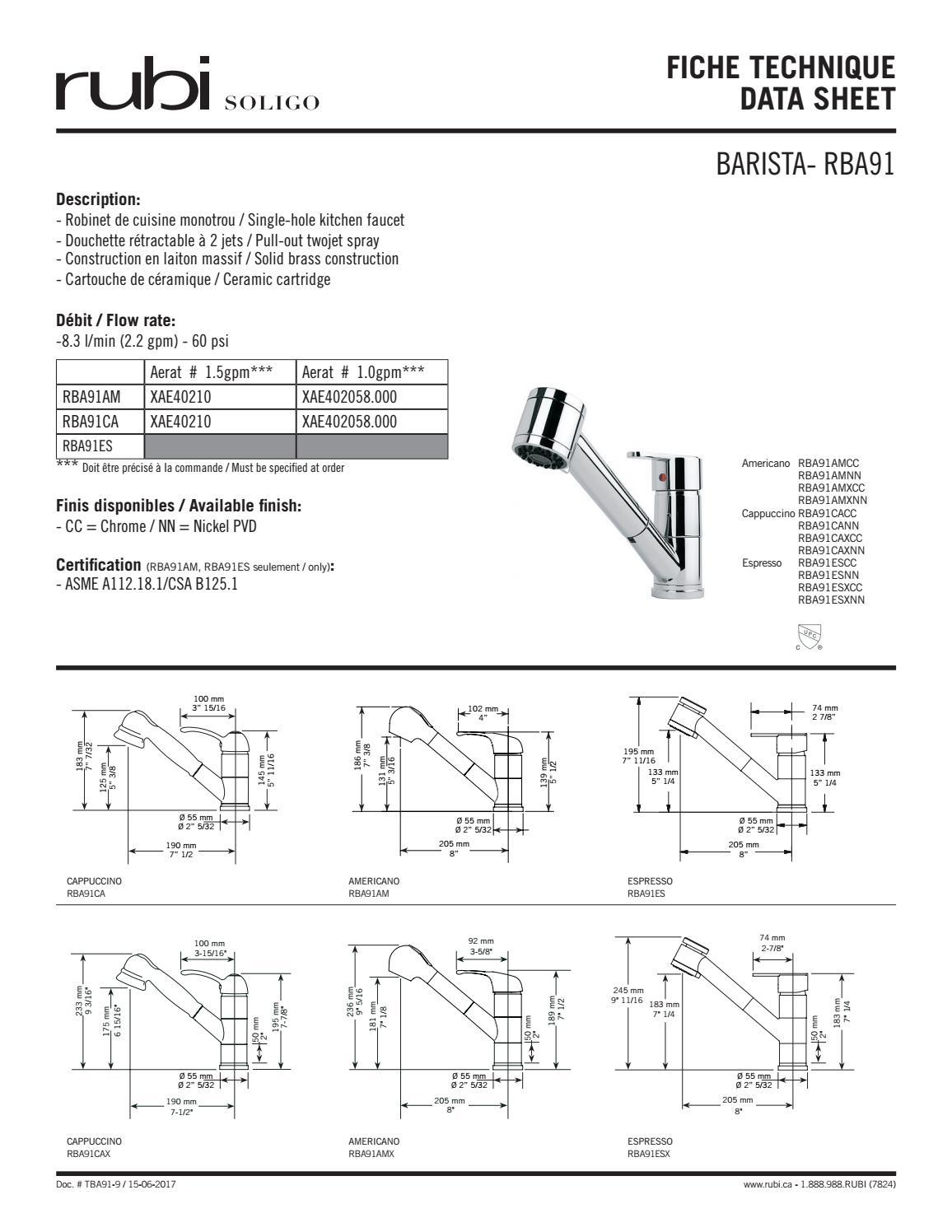 Tba91 8 Fiche Technique Data Sheet By Rubi Soligo 2 Issuu