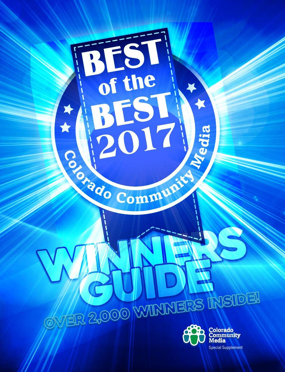 Best Of The Best 2017 By Colorado Community Media