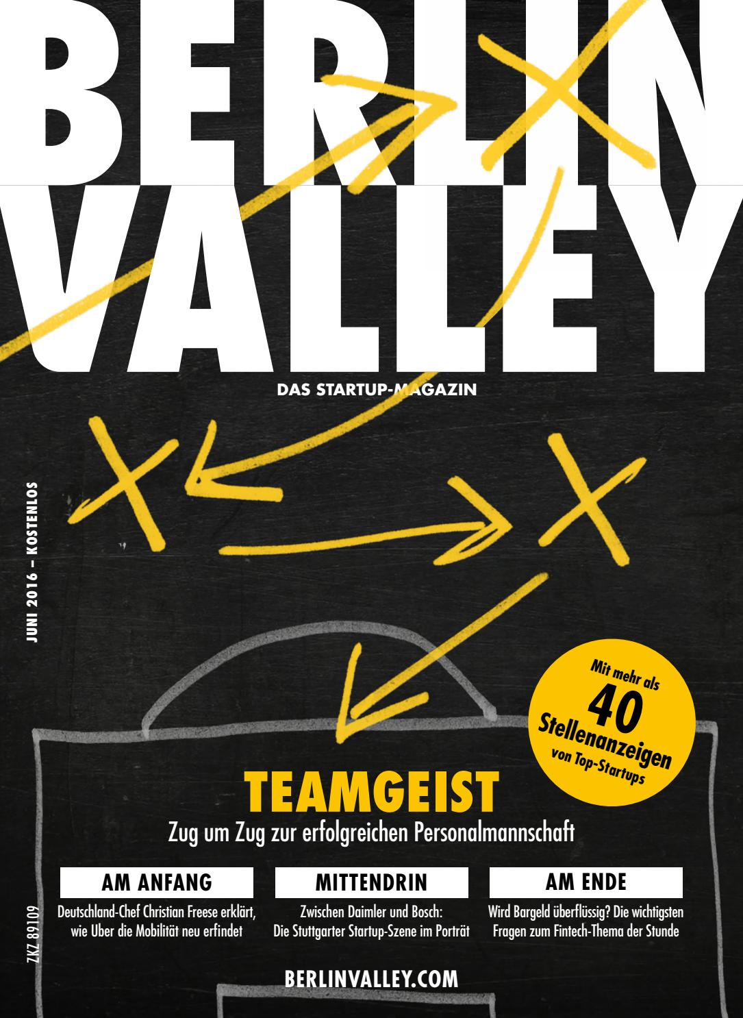 Berlin Valley 15 - Mai 2016 Recruiting by NKF Media - issuu 960a11367b