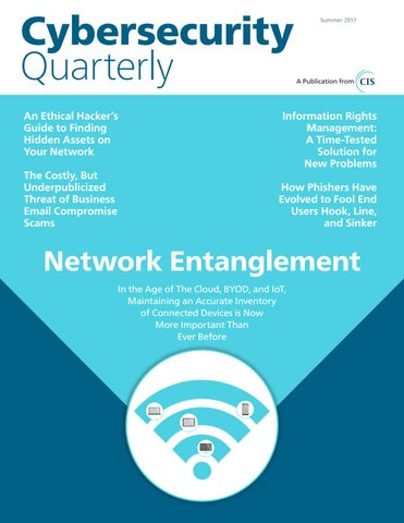 Cybersecurity Quarterly (Summer 2017) by Cybersecurity