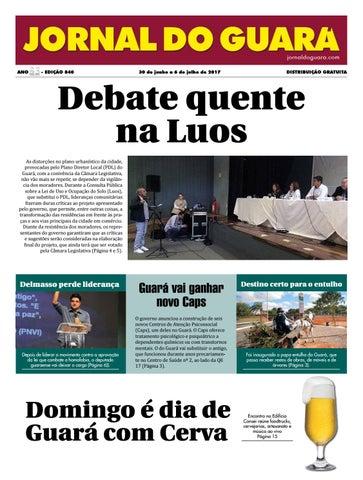 73cdeee96 Jornal do Guará 841 by Jornal do Guará - issuu