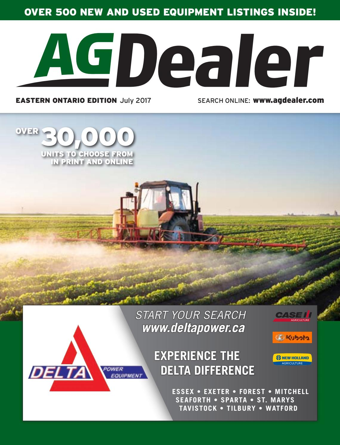 AGDealer Eastern Ontario Edition, July 3, 2017 by Farm Business  Communications - issuu