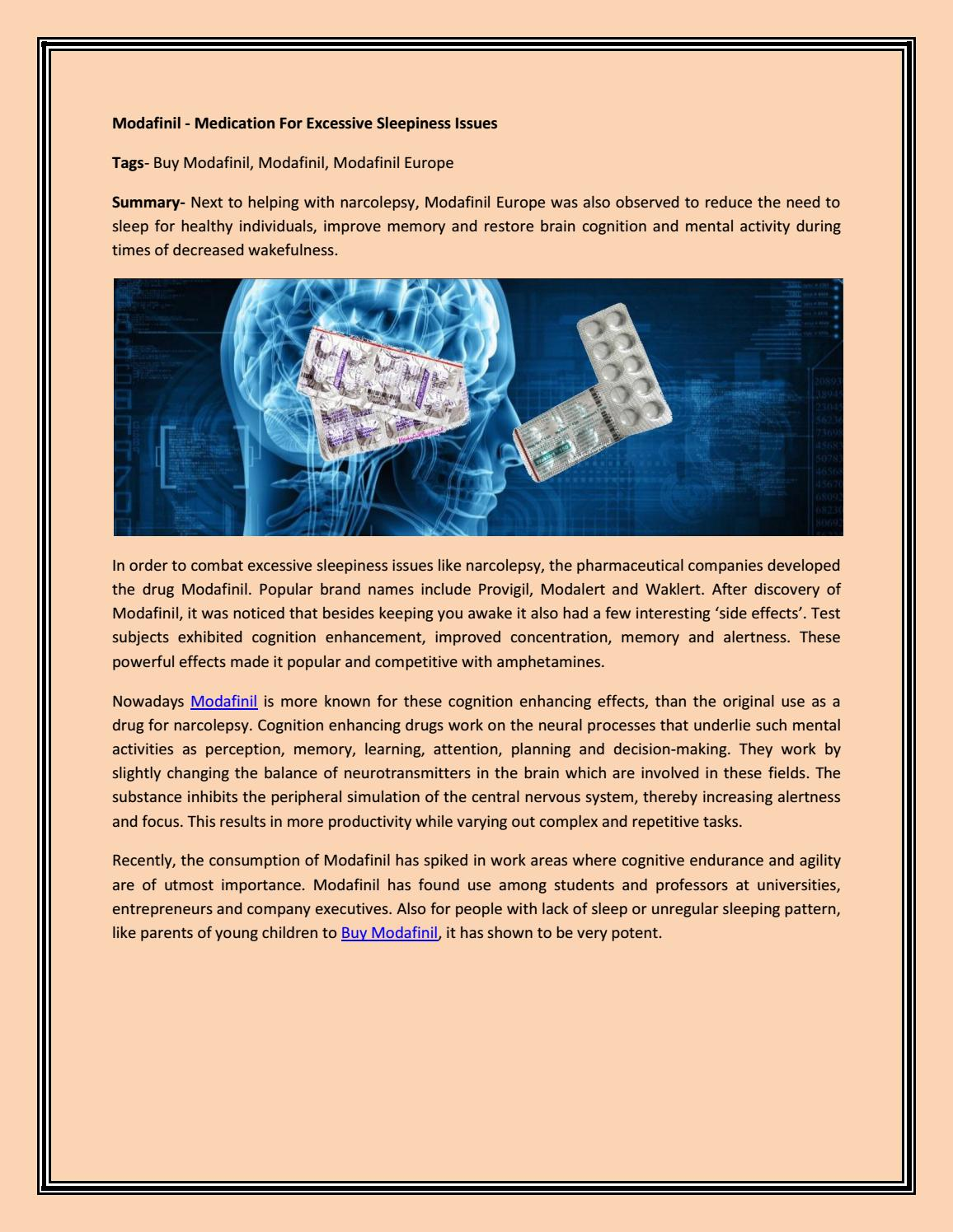 Buy modafinil by Lily Smith - issuu