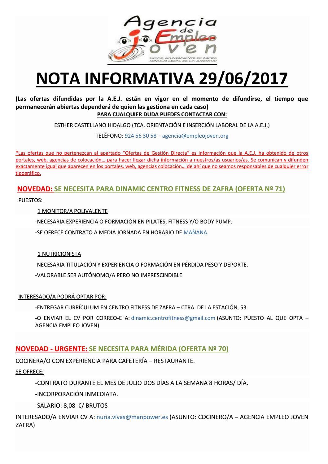 Nota informativa 29 by Segura Al Día - issuu
