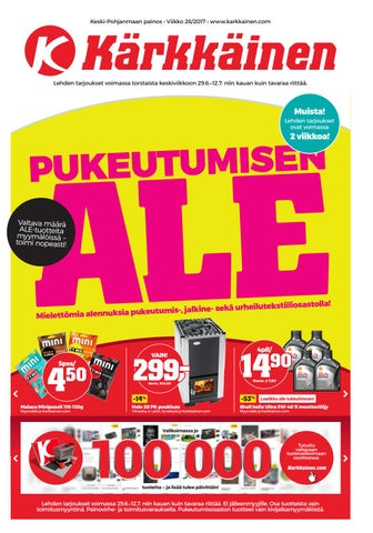 cheap for discount 950b3 adaab Kärkkäisen mainos (26 2017) (KP) by Tavaratalo J. Kärkkäinen Oy - issuu
