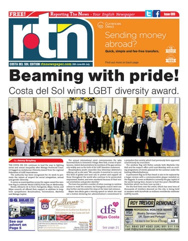 RTN Newspaper – Costa del Sol 30 June - 6 July 2017 Issue