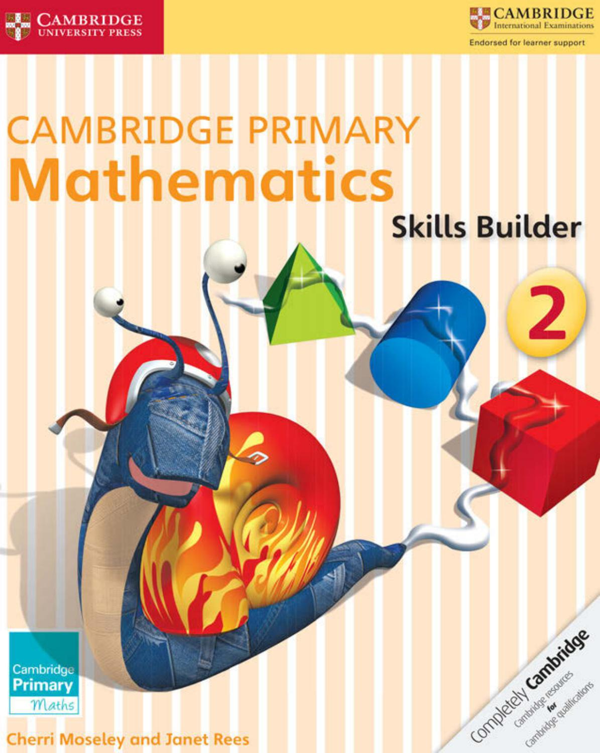 Preview Cambridge Primary Mathematics Skills Builder 2 by Cambridge ...