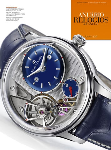 7fcb12f6e6f Anuário Relógios   Canetas - Julho 2017 by Anuário Relógios ...