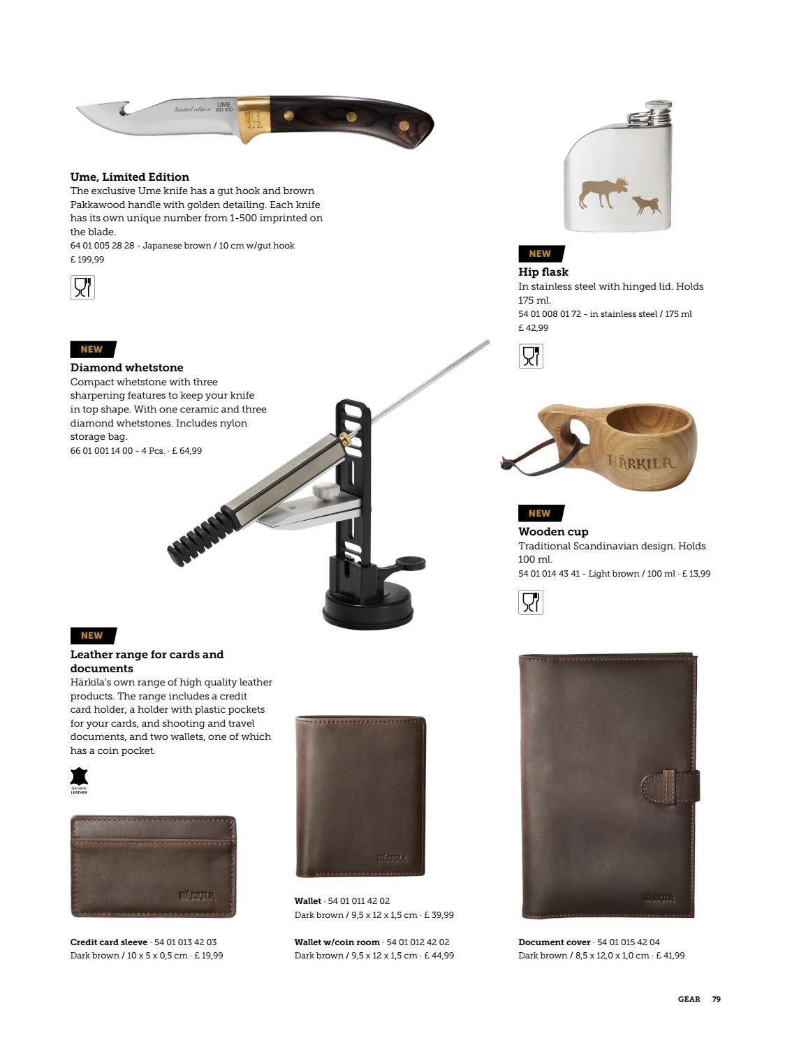 Harkila Leather Credit Card Sleeve