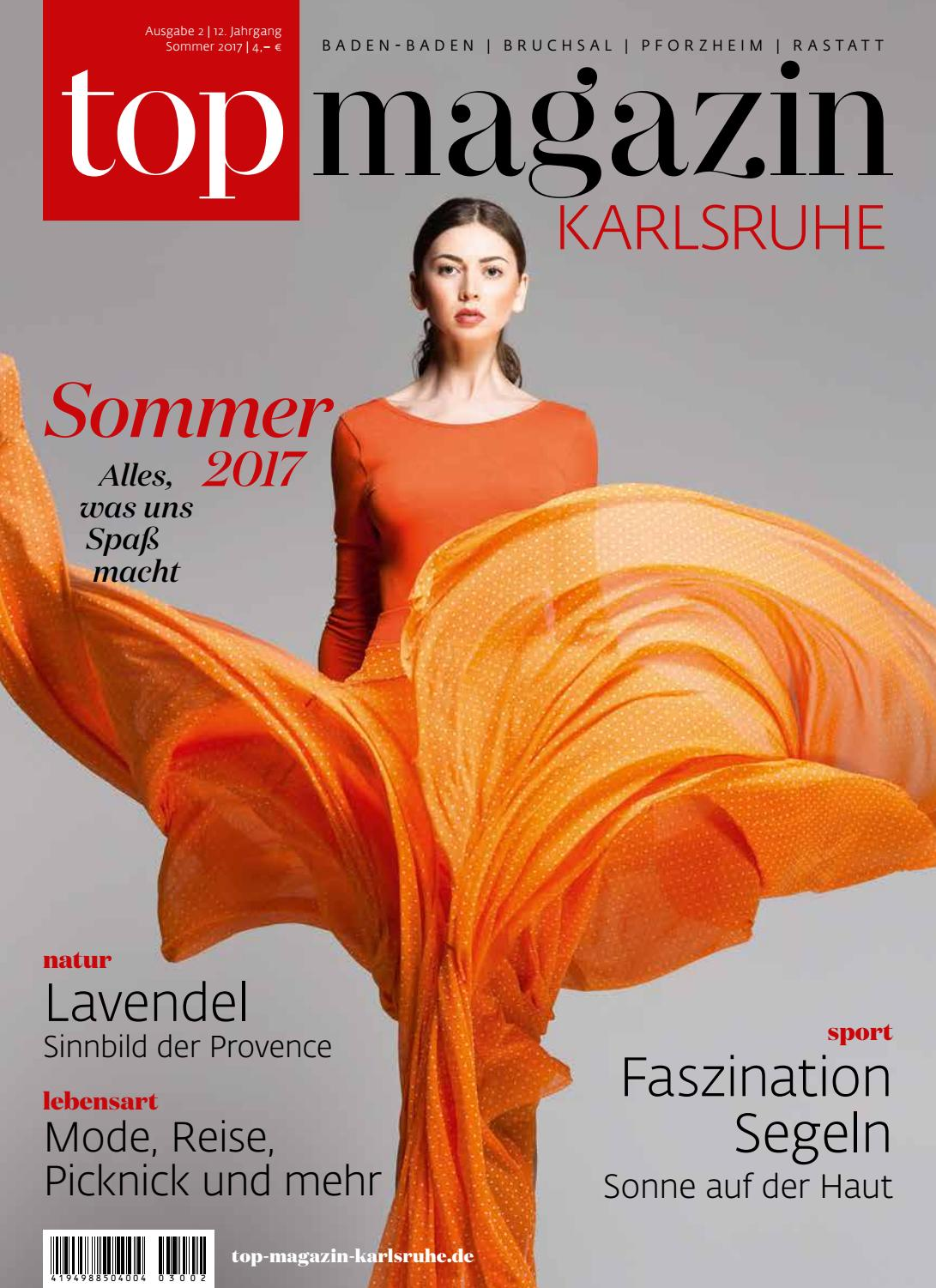 Top Magazin Karlsruhe Sommer 2017 by Top Magazin - issuu