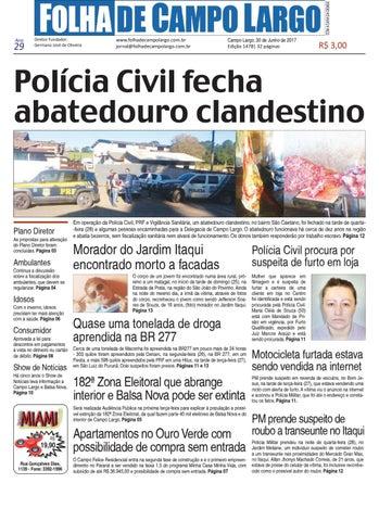 82fcc74f8df13 Folha de Campo Largo by Folha de Campo Largo - issuu