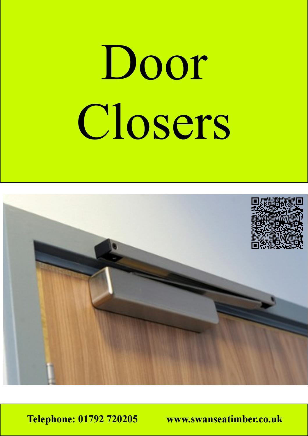 Gibcloser Safety Universal Front Back Door Doors Closer Metal Outdoor Gate Black