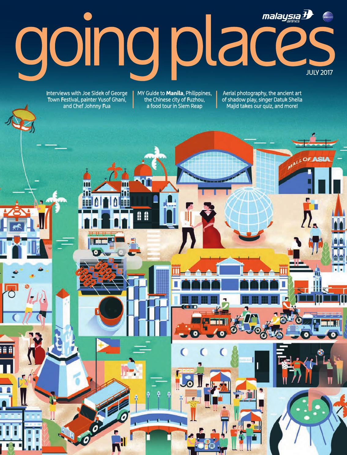 Going Places July 2017 By Spafax Issuu