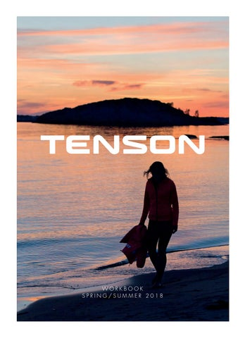Tenson Workbook SS18 by Tenson - issuu 167cc27b7d29