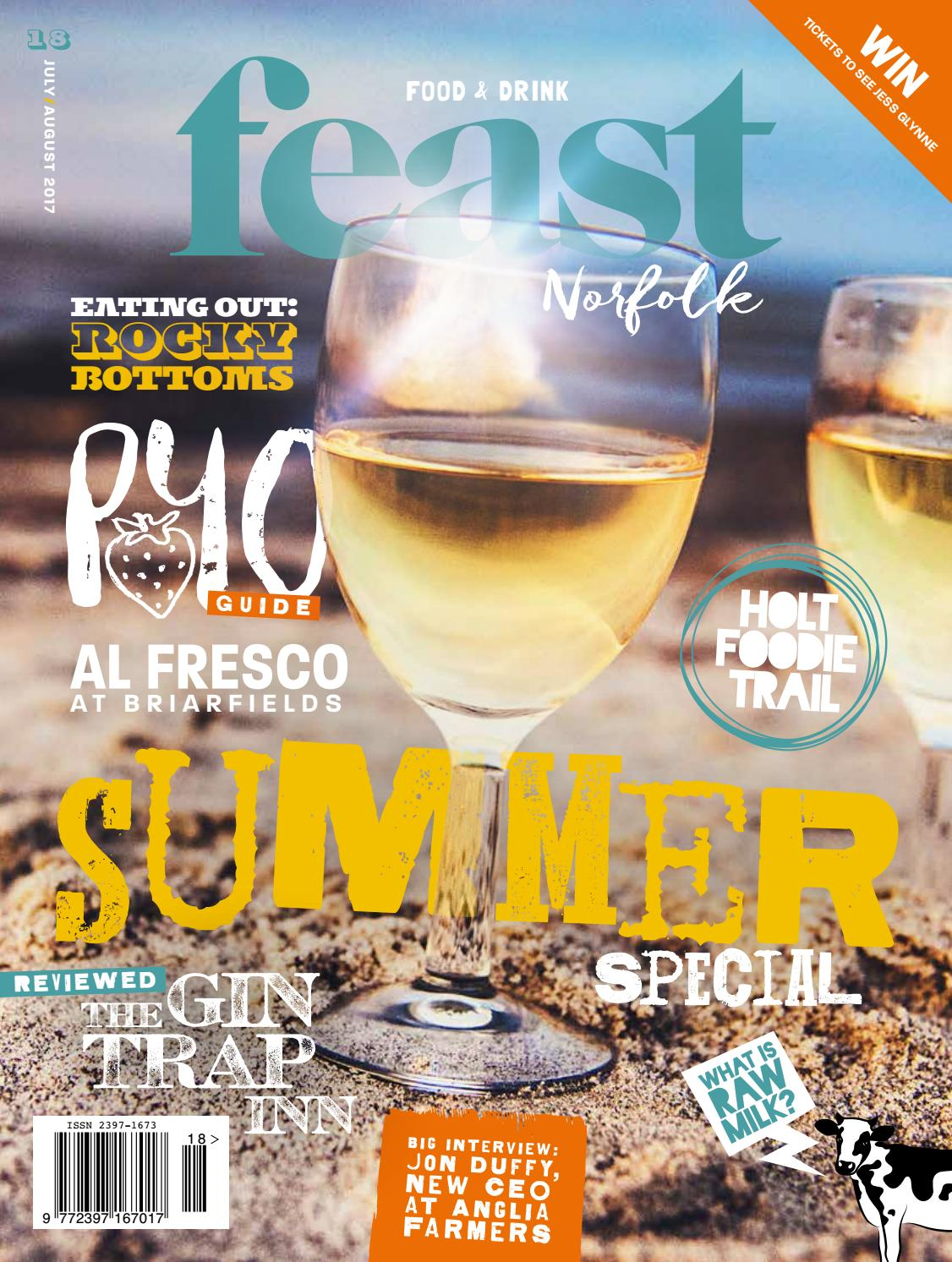 Feast Norfolk Magazine July/August 17 Issue 18 by Feast