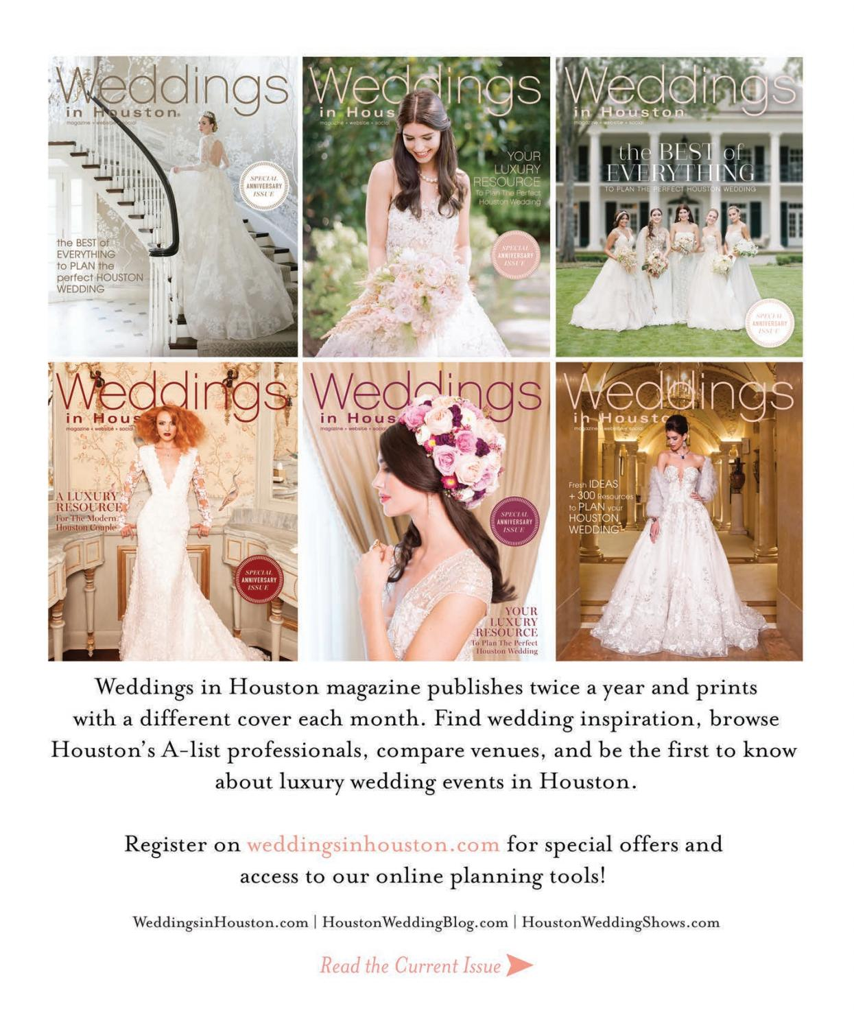Weddings In Houston Fall Winter 2017 By Weddings In Houston Issuu