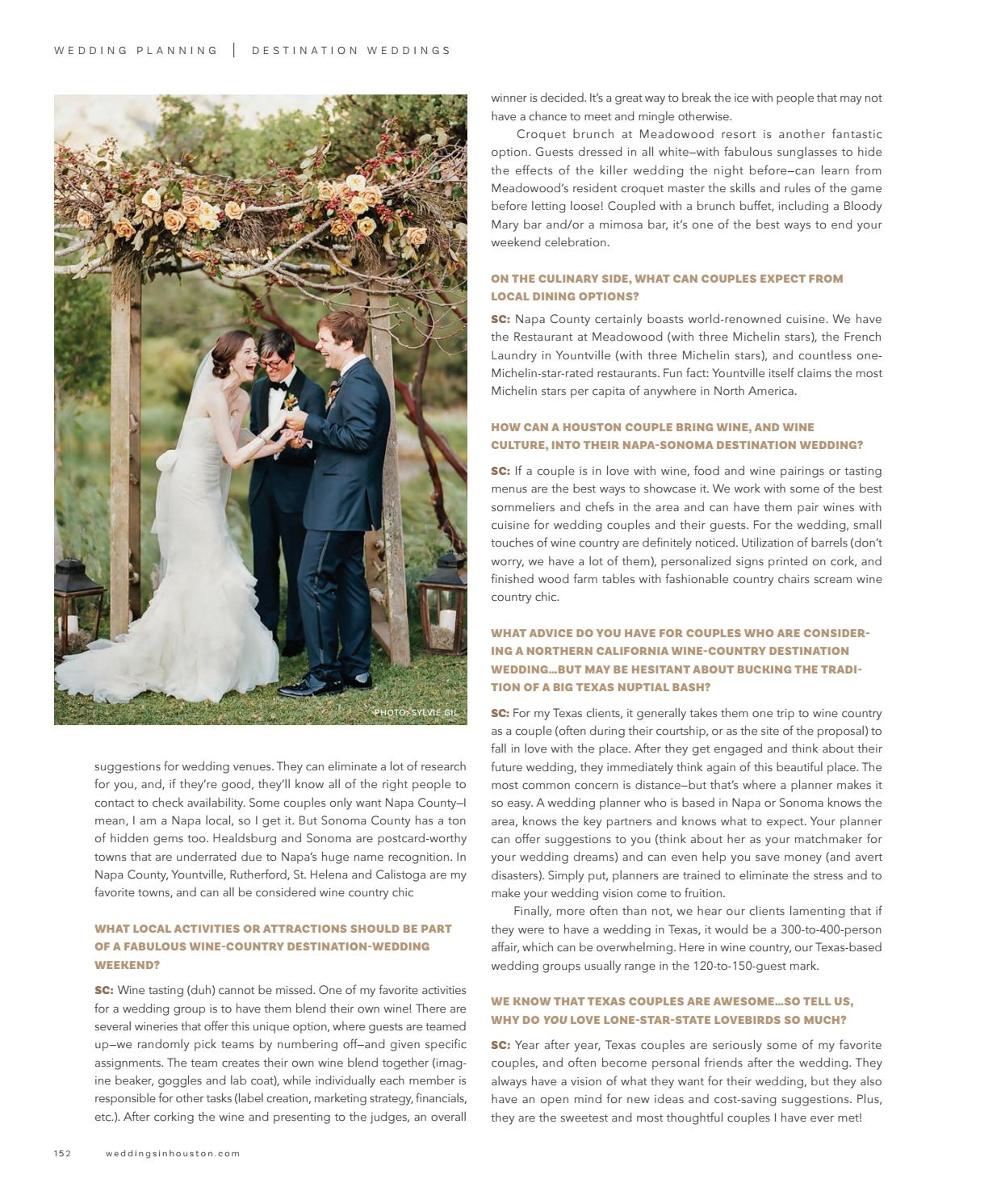 Weddings In Houston Fall Winter 2017 By Weddings In Houston