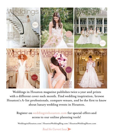 Weddings in Houston Fall Winter 2017 by Weddings in Houston - issuu 5143defacb3e