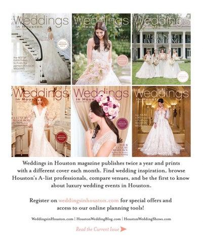 ecda5365fdd Weddings in Houston Fall Winter 2017 by Weddings in Houston - issuu