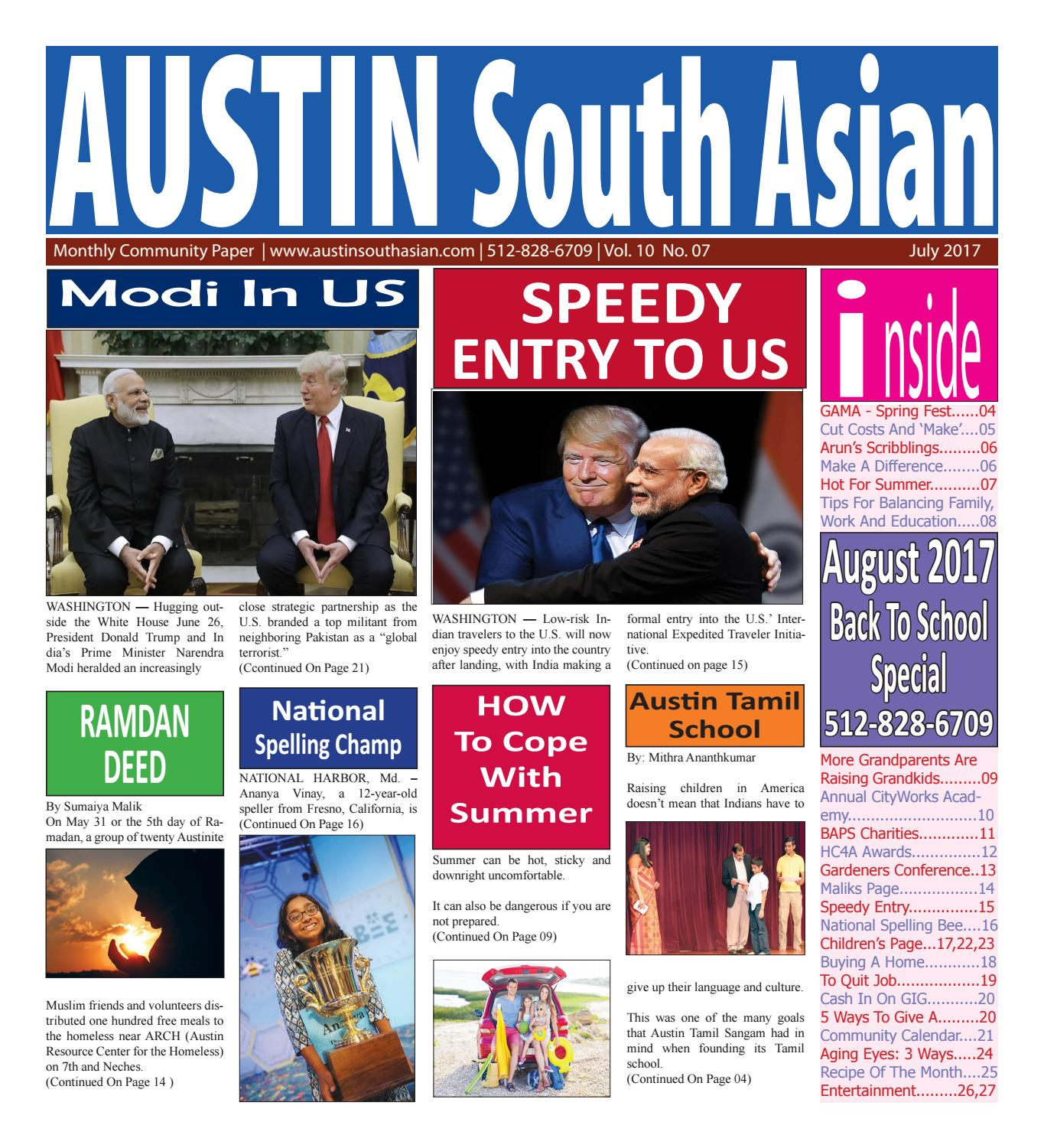 Austin south asian july 17 by Austin South Asian - issuu