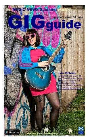 MNS 'Scottish' GIGguide by MUSIC NEWS Scotland - issuu