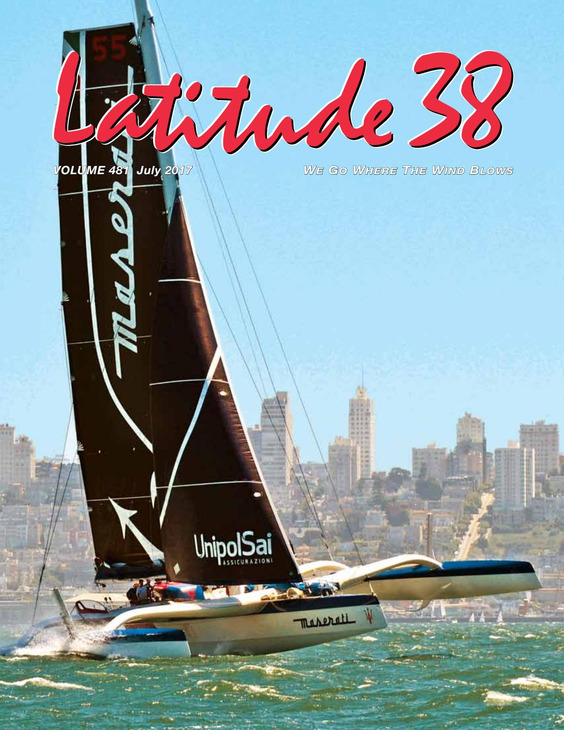 Latitude 38 July 2017 By Media Llc Issuu Boat Trailer Wiring Diagrams In Addition Century