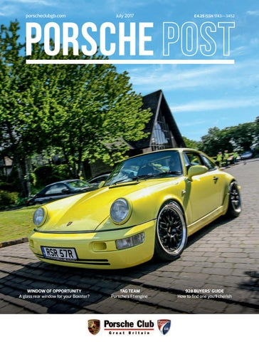 Porsche Post July 2017 by Porsche Club Great Britain - issuu 531eda1aa131