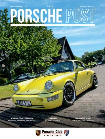 best loved a492a 1d794 Porsche Post July 2017 by Porsche Club Great Britain - issuu