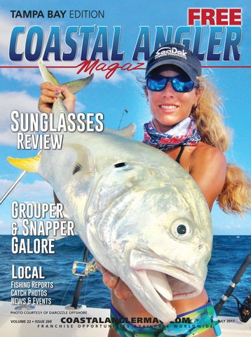 6e83a4f8090 Coastal Angler Magazine - July / Tampa Bay by Coastal Angler ...