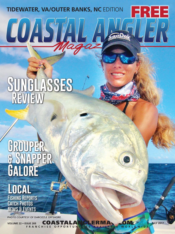 Coastal angler magazine july tidewater va outer banks for Va saltwater fishing regulations 2017